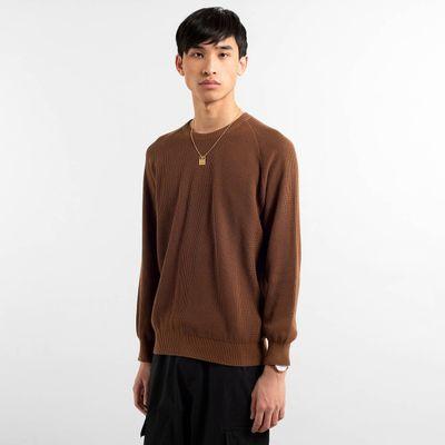 DEDICATED - Sweater Kalmar - Brown