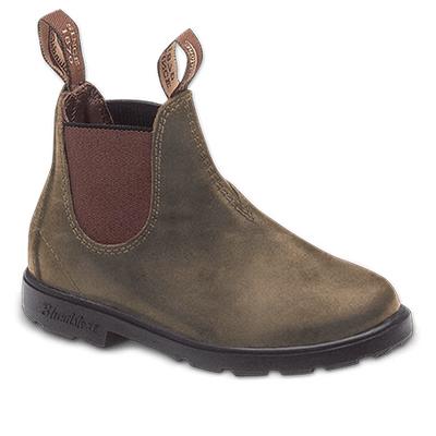 Blundstone Kids 565 Rustic Brown Leather