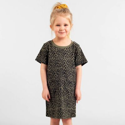 DEDICATED - T-shirt Dress Vetlanda Trees