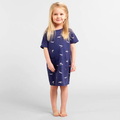 DEDICATED - T-shirt Dress Vetlanda Whales