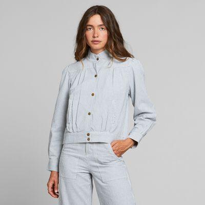 Dedicated - Jacket Ljungby - Denim Blue