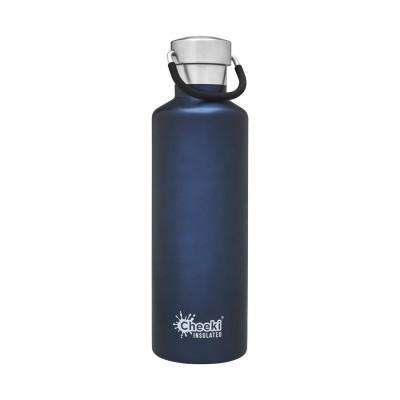 Cheeki flaska einangruð Ocean (dökkblá) 600 ml