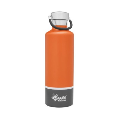 Cheeki flaska einangruð Orange Grey 600 ml
