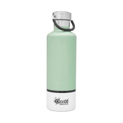 Cheeki flaska einangruð Pistachio White 600 ml
