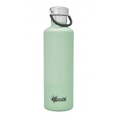 Cheeki flaska einangruð Pistachio (ljósgræn) 600 ml
