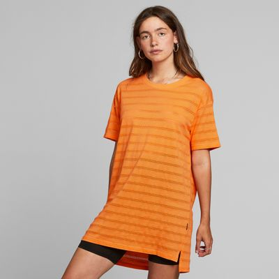 DEDICATED - T-shirt Alta Lace - Orange