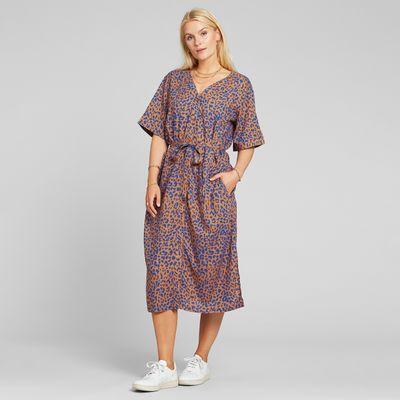 Dedicated - Dress Bornholm - Leopard Light Brown