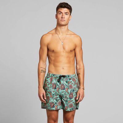 DEDICATED - Swim Shorts - Sandhamn - Indian Flowers Multi Color