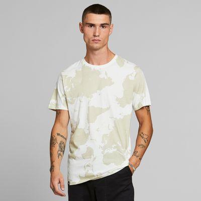 DEDICATED - T-shirt Stockholm World Off-White