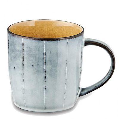 Nkuku - Bao Ceramic - Handled Mug - Mustard