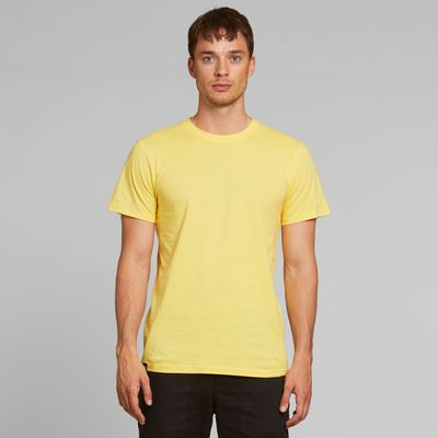 DEDICATED - T-shirt Stockholm - Base Yellow