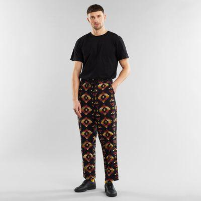 Dedicated - Pants Ikat - Flannel black