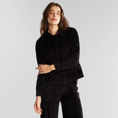 Dedicated - Shirt Lima - Curduroy black