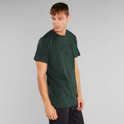DEDICATED - T-shirt Stockholm - Dark green - local planet