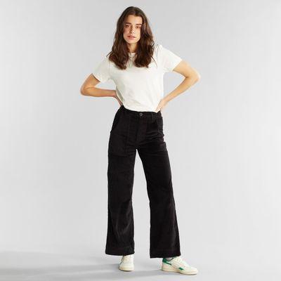 Dedicated - Pants Vara - Curduroy black