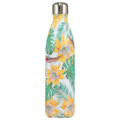 Chilly's flaska Tropical Flowers 500 ml
