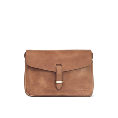 O MY BAG - Ally Bag Midi - Camel Hunter Leather