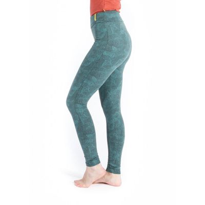 YOGAMII - Lilly Leggings - Aqua Print