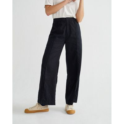 THINKING MU -  BLACK - MAIA PANTS