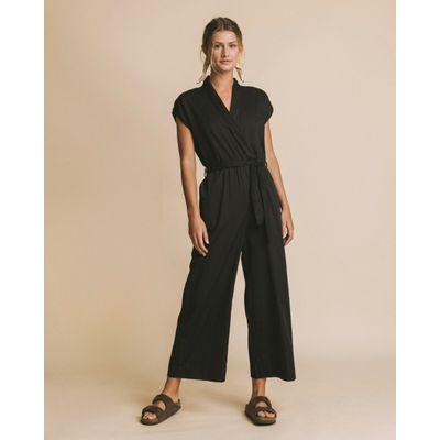 THINKING MU - BLACK MALAWI - JUMPSUIT