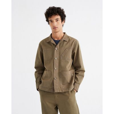 THINKING MU -GREEN JAMES V JACKET