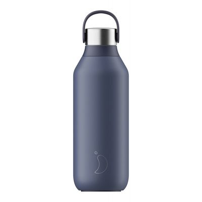 Chilly's S2 Flaska Whale Blue 500ml
