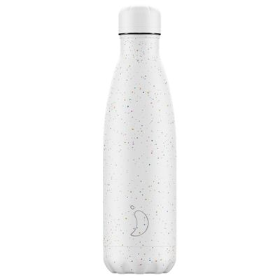 Chilly's flaska Speckle White 500 ml