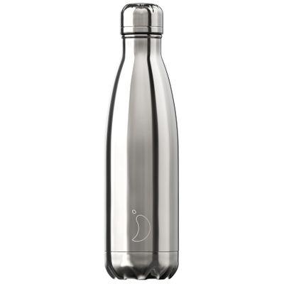 Chilly's flaska króm Silfur 500 ml