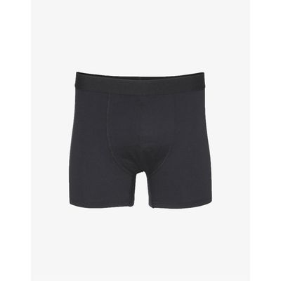 COLORFUL STANDARD - CLASSIC ORGANIC BOXER BRIEFS - DEEP BLACK