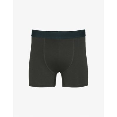 COLORFUL STANDARD - CLASSIC ORGANIC BOXER BRIEFS - HUNTER GREEN
