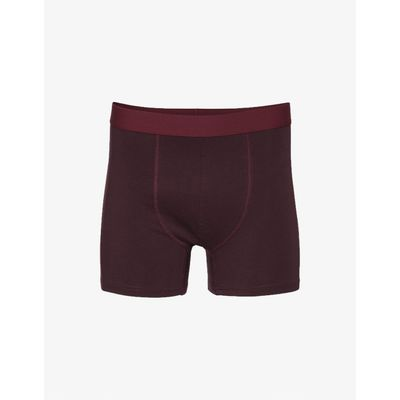 COLORFUL STANDARD - CLASSIC ORGANIC BOXER BRIEFS - OXBLOOD RED
