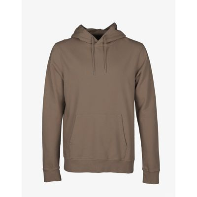 COLORFUL STANDARD - CLASSIC HOOD - WARM TAUPE