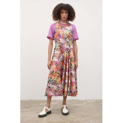 KOWTOW - CLAUDE DRESS - HAZY FLORAL