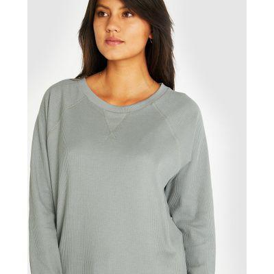CLOTH & CO - THE WAFFLE SWEAT | NEWPORT BEACH