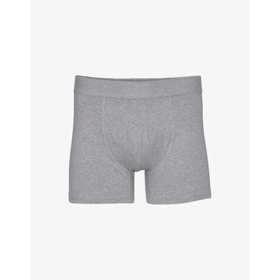 COLORFUL STANDARD - CLASSIC ORGANIC BOXER BRIEFS - HEATHER GREY