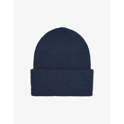 COLORFUL STANDARD - MERINO WOOL HAT - NAVY BLUE