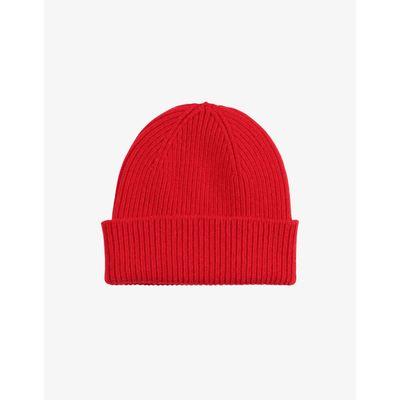 COLORFUL STANDARD - MERINO WOOL HAT - SCARLET RED