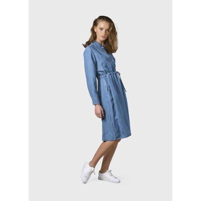 KLITMÖLLER - Cornelia dress - Light blue chambrey