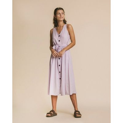 THINKING MU - CUADROS MAUVE - JOLIE DRESS