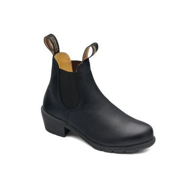 Blundstone 1671 Black Leather Heels