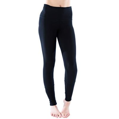 LVR - CUFFED LEGGINGS - Dark Black