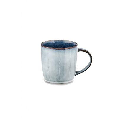 Nkuku - Bao Ceramic - Handled Mug - Navy