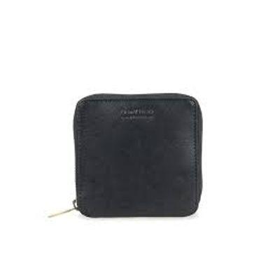 O MY BAG - Sonny Square Wallet - Black - Stromboli