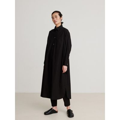SKALL STUDIO -   Edgar Shirtdress - Black