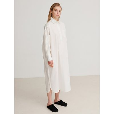 SKALL STUDIO -  Edgar Shirtdress - Vanilla