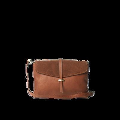 O MY BAG - Ella Midi - Wild Oak Soft Grain & Suède Leather