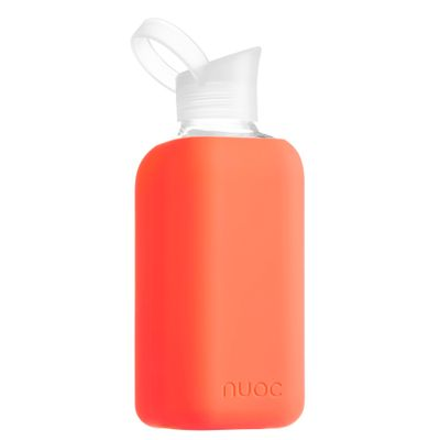 Nuoc Essence rauð glerflaska 800 ml