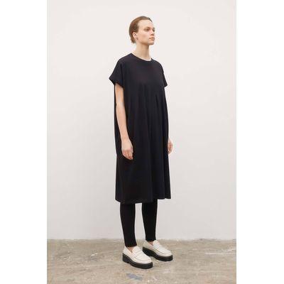 KOWTOW - FOLDING DRESS  - BLACK