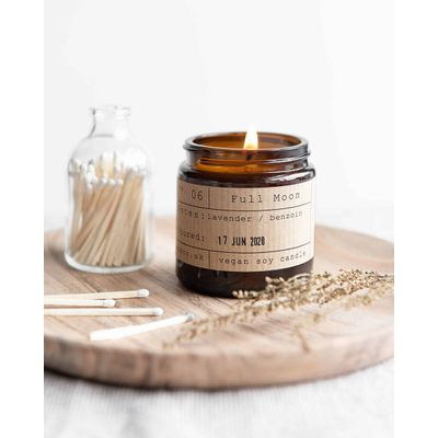 Tiger & co. Full Moon Candle Jar