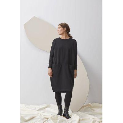 PAPU - GIANT SPLIT DRESS - BLACK